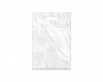 Náhled produktu Igelitová PE taška bílá - 300x450mm, průhmat