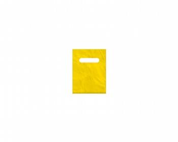 Náhled produktu Igelitová PE taška žlutá - 150x200mm, průhmat