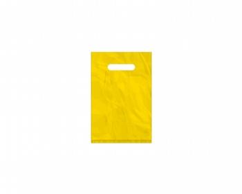 Náhled produktu Igelitová PE taška žlutá - 200x300mm, průhmat