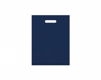 Náhled produktu Igelitová PE taška tmavě modrá - 300x400mm, pevný průhmat a složené dno