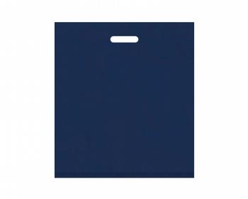 Náhled produktu Igelitová PE taška tmavě modrá - 450x500mm, pevný průhmat a složené dno