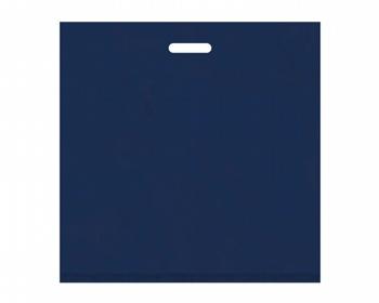 Náhled produktu Igelitová PE taška tmavě modrá - 550x550mm, pevný průhmat a složené dno