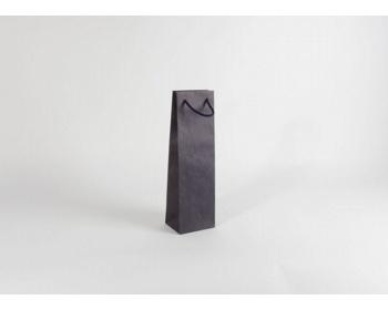 Náhled produktu Papírová taška na víno BLUE GLASS - 12 x 40 x 9 cm