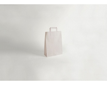 Náhled produktu Papírová taška CLASSIC WHITE (BS) - 18 x 25 x 8 cm