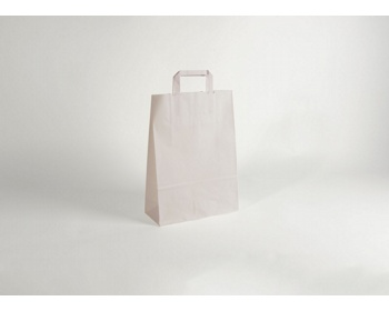 Náhled produktu Papírová taška CLASSIC WHITE (BS) - 26 x 38 x 11 cm