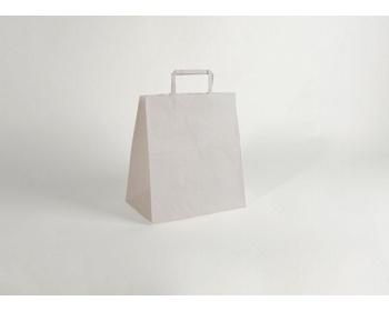 Náhled produktu Papírová taška CLASSIC WHITE (BS) - 26 x 29 x 16 cm