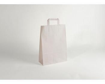 Náhled produktu Papírová taška CLASSIC WHITE (BS) - 32 x 42,5 x 13 cm
