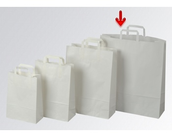 Náhled produktu Papírová taška CLASSIC WHITE (BS) - 44 x 50 x 14 cm