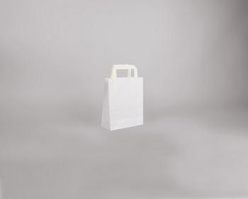 Náhled produktu Papírová taška BS CRAFT - 18 x 22 x 8 cm - bílá