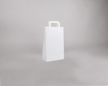 Náhled produktu Papírová taška BS CRAFT - 22 x 36 x 10 cm - bílá