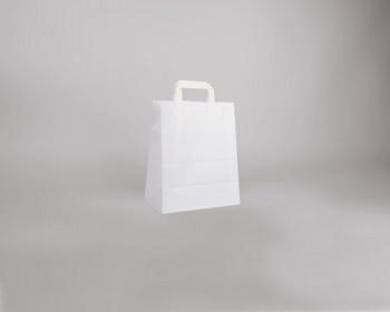 Náhled produktu Papírová taška BS CRAFT - 26 x 32 x 14 cm - bílá