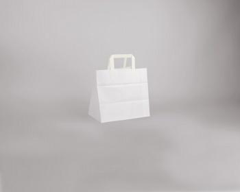 Náhled produktu Papírová taška BS CRAFT - 26 x 24,5 x 17 cm - bílá