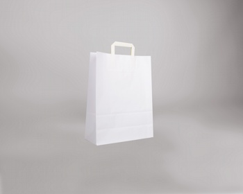 Náhled produktu Papírová taška BS CRAFT - 32 x 42 x 14 cm - bílá