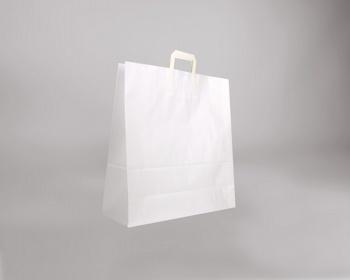 Náhled produktu Papírová taška BS CRAFT - 45 x 48 x 17 cm - bílá