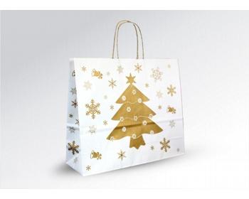 Náhled produktu Vánoční papírová a dárková taška CHRISTMAS - 36 x 31 x 12 cm
