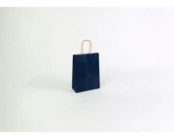 Náhled produktu Papírová taška ECO BLUE - 18 x 25 x 8 cm