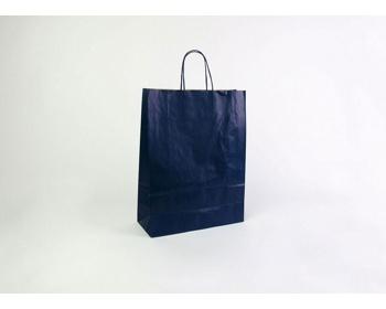 Náhled produktu Papírová taška ECO BLUE - 32 x 42,5 x 13 cm