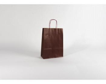 Náhled produktu Papírová taška ECO BORDEAUX - 23 x 32 x 10 cm