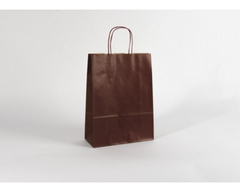 Náhled produktu Papírová taška ECO BORDEAUX - 32 x 42,5 x 13 cm