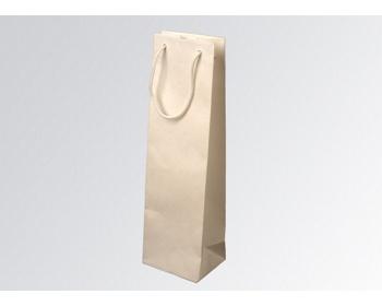 Náhled produktu Papírová taška na víno GLASS BIANCO - 12 x 40 x 9 cm