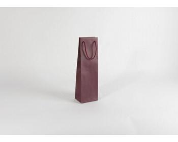 Náhled produktu Papírová taška na víno GLASS BORDEAUX - 12 x 40 x 9 cm