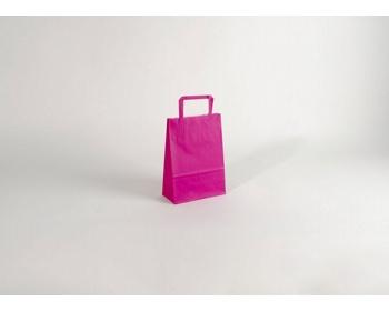 Náhled produktu Papírová taška HAPPY PINK - 18 x 25 x 8 cm