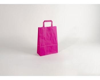 Náhled produktu Papírová taška HAPPY PINK - 23 x 32 x 10 cm