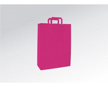 Náhled produktu Papírová taška HAPPY PINK - 26 x 38 x 11 cm
