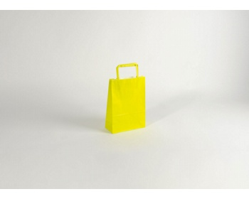 Náhled produktu Papírová taška HAPPY YELLOW / GREEN - 18 x 25 x 8 cm
