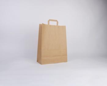 Náhled produktu Papírová taška HS CRAFT - 32 x 42 x 14 cm - hnědá