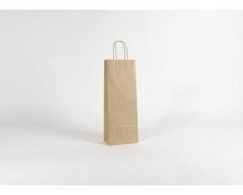 Náhled produktu Papírová taška na víno LONGER NATURAL - 15 x 40 x 8 cm