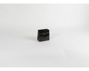 Náhled produktu Papírová taška M2 BLACK - 14 x 14 x 7 cm