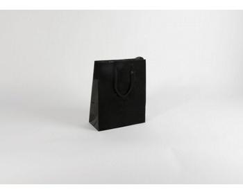 Náhled produktu Papírová taška M2 BLACK - 25 x 31 x 11 cm