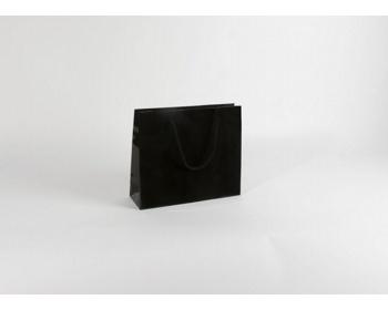 Náhled produktu Papírová taška M2 BLACK - 32 x 27,5 x 10 cm