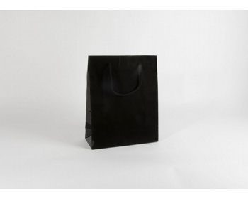 Náhled produktu Papírová taška M2 BLACK - 32 x 40 x 13 cm