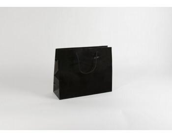 Náhled produktu Papírová taška M2 BLACK - 38 x 31 x 13 cm
