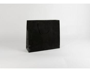Náhled produktu Papírová taška M2 BLACK - 42 x 37 x 13 cm