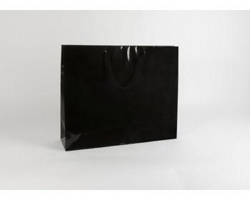 Náhled produktu Papírová taška M2 BLACK - 54 x 44,5 x 14 cm