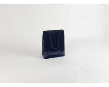 Náhled produktu Papírová taška M2 BLUE - 22 x 27,5 x 10 cm