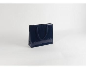 Náhled produktu Papírová taška M2 BLUE - 32 x 27,5 x 10 cm
