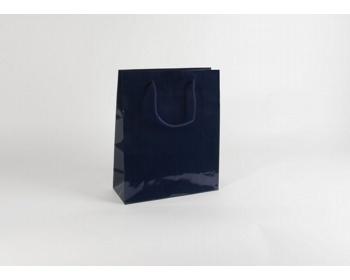 Náhled produktu Papírová taška M2 BLUE - 32 x 40 x 13 cm