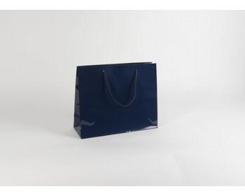 Náhled produktu Papírová taška M2 BLUE - 38 x 31 x 13 cm