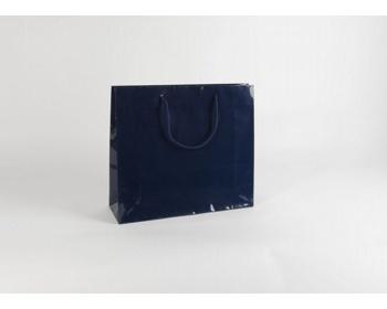 Náhled produktu Papírová taška M2 BLUE - 42 x 37 x 13 cm