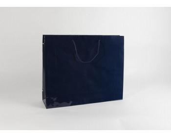 Náhled produktu Papírová taška M2 BLUE - 54 x 44,5 x 14 cm