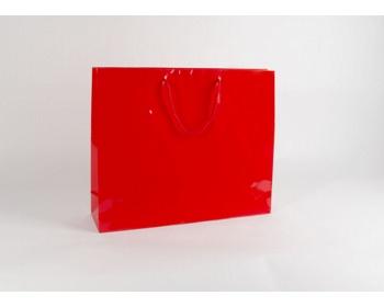 Náhled produktu Papírová taška M2 RED - 54 x 44,5 x 14 cm