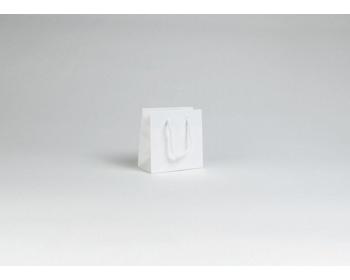 Náhled produktu Papírová taška M2 WHITE - 14 x 14 x 7 cm