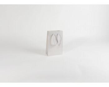 Náhled produktu Papírová taška M2 WHITE - 16 x 25 x 8 cm