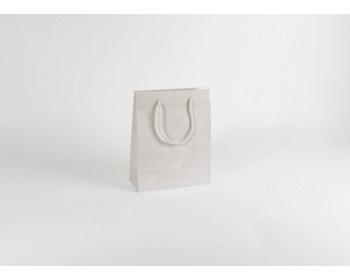 Náhled produktu Papírová taška M2 WHITE - 25 x 31 x 11 cm