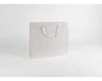Náhled produktu Papírová taška M2 WHITE - 42 x 37 x 13 cm