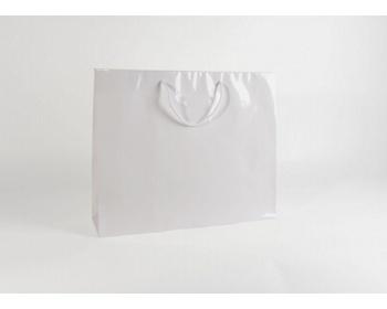 Náhled produktu Papírová taška M2 WHITE - 54 x 44,5 x 14 cm
